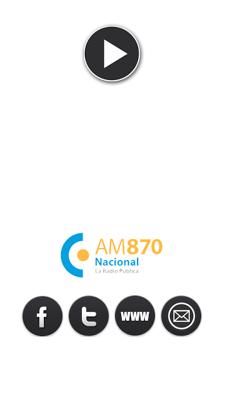 Radio Nacional AM 870 - screenshot