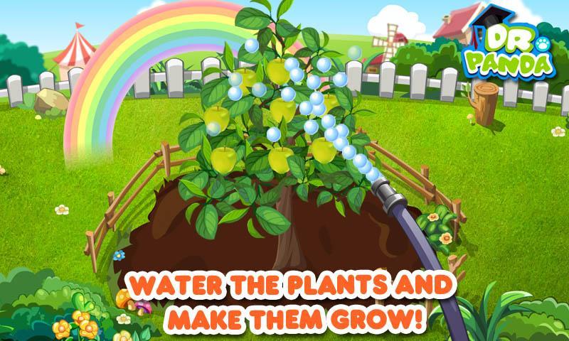 Dr. Panda's Veggie Garden - screenshot