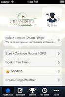 Screenshot of Cream Ridge Golf Course
