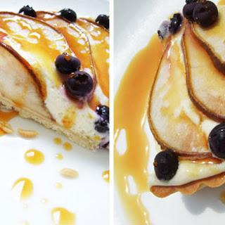Pascal Rigo's Goat Cheese Tart with Pears (Tarte au Chevre avec des Poires)
