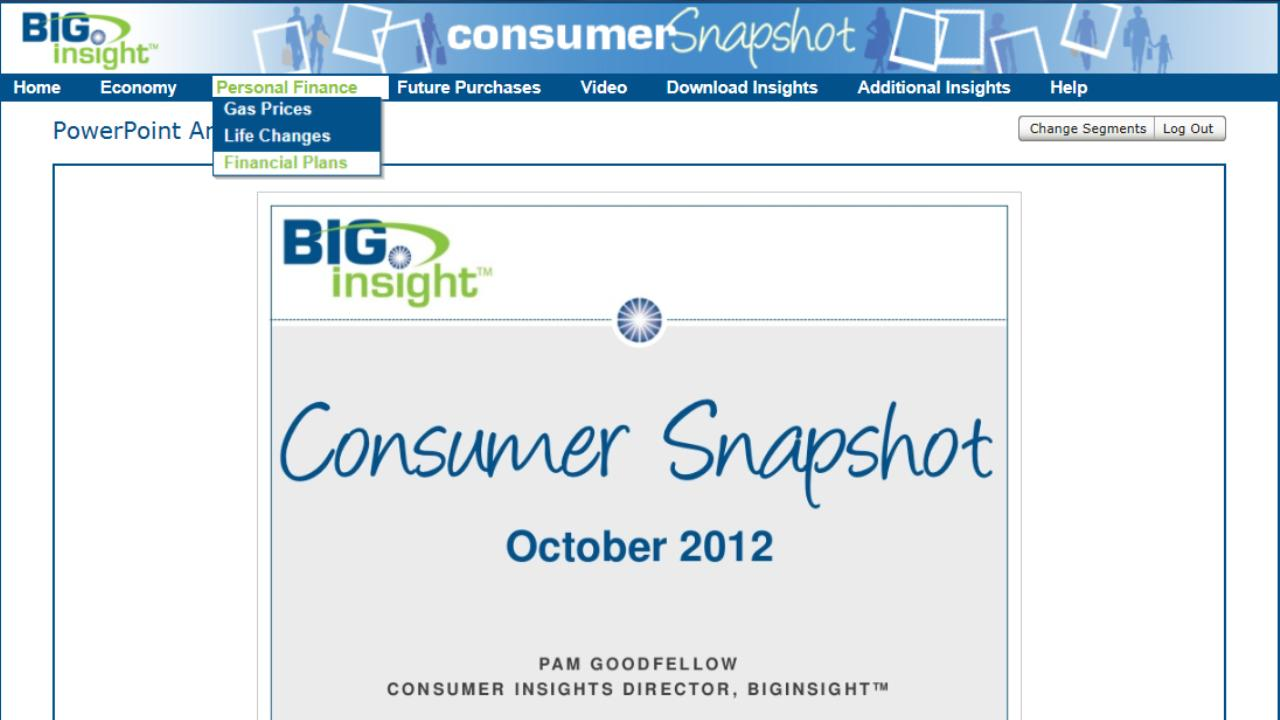 Consumer Snapshot Tablet- screenshot