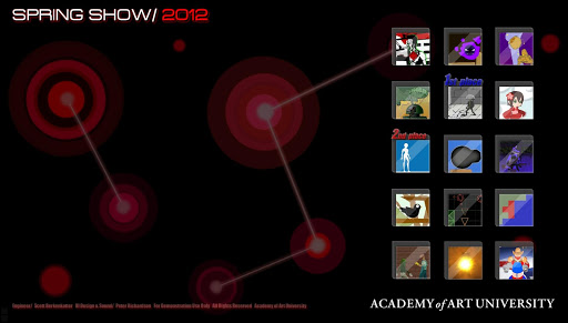 AAU Game Design: SpringShow12 Beta screenshots 1