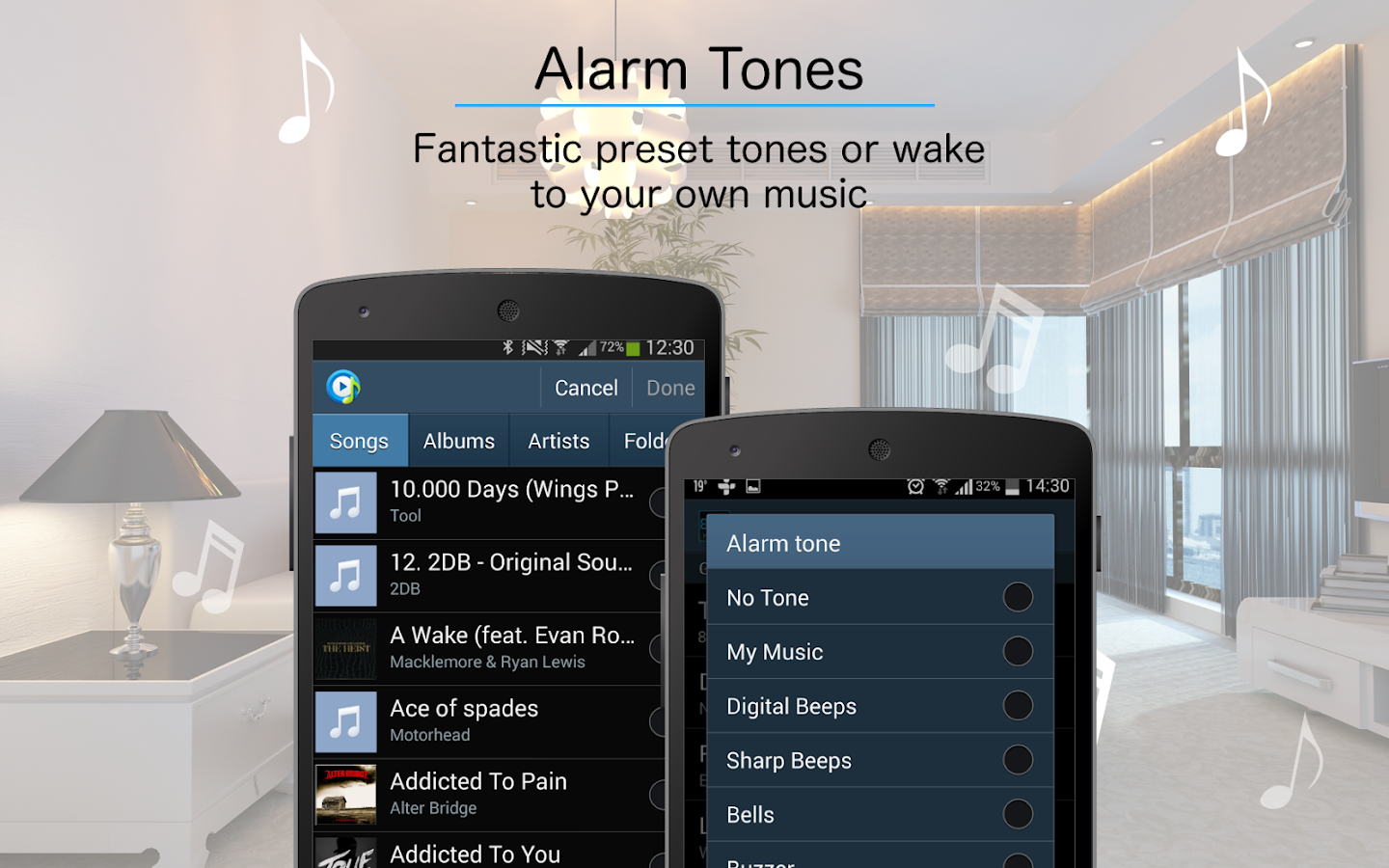 Digital Alarm Clock- screenshot