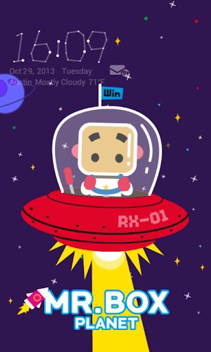 Space Travel Live Locker Theme