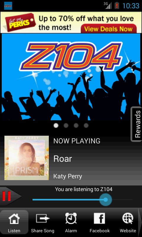 Z104 The 757 Hit Music Station - screenshot