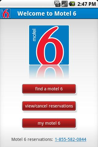 Motel 6 - screenshot
