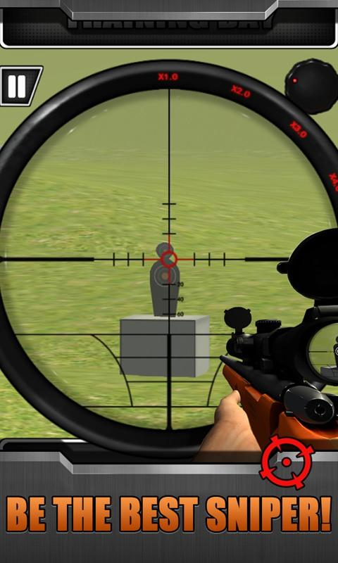 Top Sniper: Training Day- screenshot