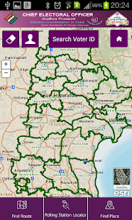 Polling Station Locator- screenshot thumbnail