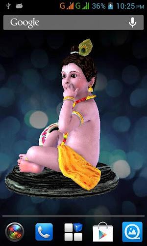 3d Little Krishna Live Wallpaper On Google Play Reviews Stats