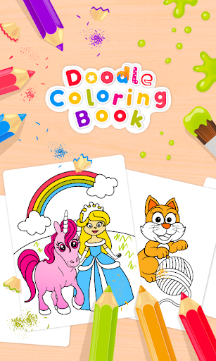 Doodle Coloring Book  screenshots 1