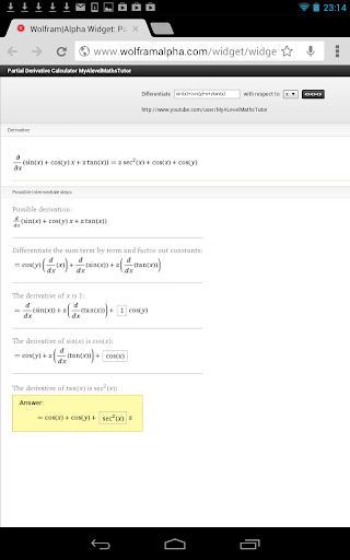 【免費教育App】Partial Derivative Calculator-APP點子