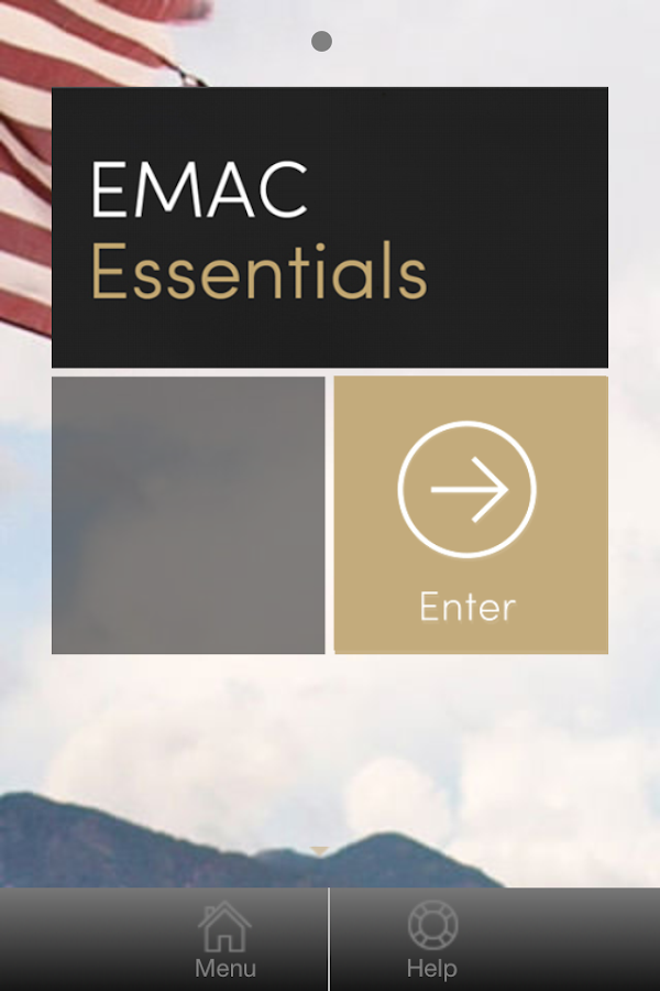 EMAC Essentials App- screenshot