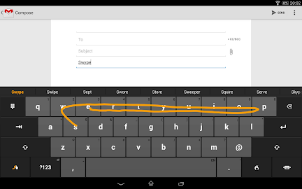 Swype Keyboard Free Screenshot 2