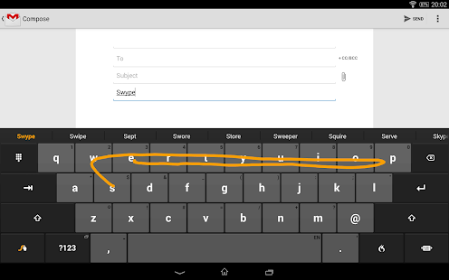 Swype Keyboard Trial Screenshot 21