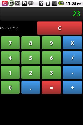 Miscalculationator- screenshot