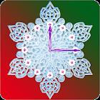 Crystal Snow Clock icon