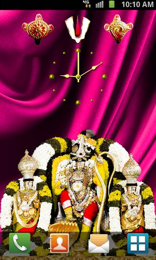 BalajiClock Live Wallpaper