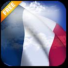 3D France Flag Live Wallpaper icon