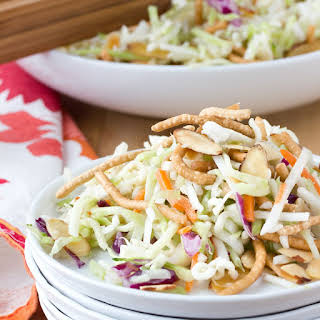Crunchy Cabbage & Ramen Noodle Salad.