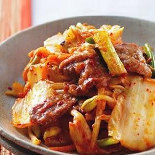 Kimchi Fried Beef