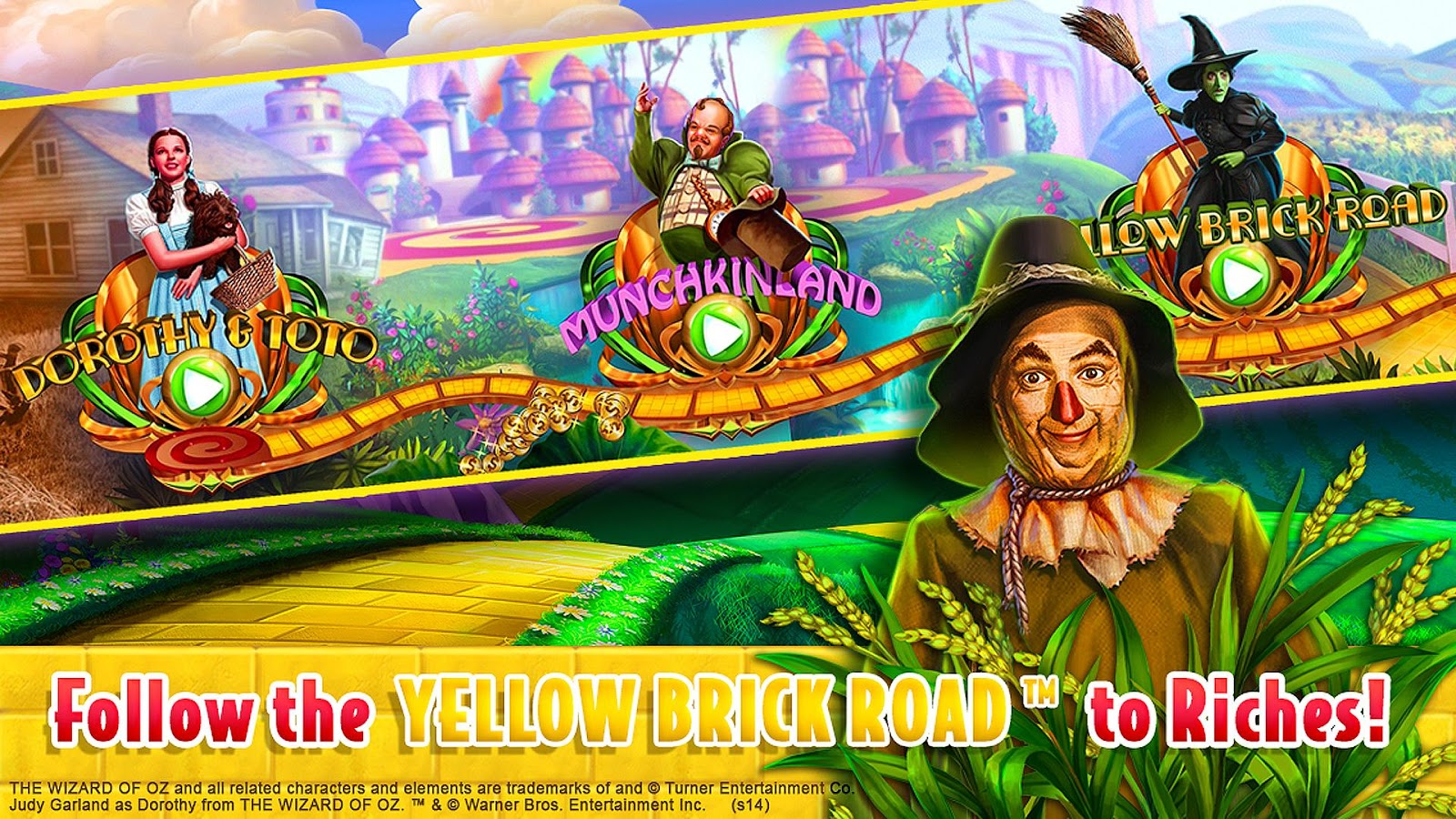 free casino games online wizard of oz