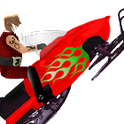 Snowmobile Santa - Racing Game icon