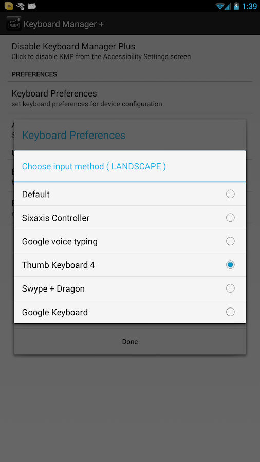 Keyboard Manager Plus - screenshot