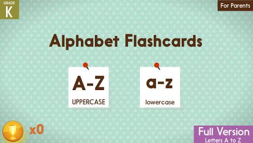 ABC Alphabet Flashcards Game