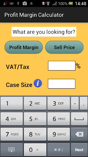 Profit Margin Calculator