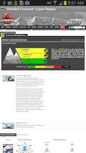 Avalanche Forecasts - screenshot thumbnail