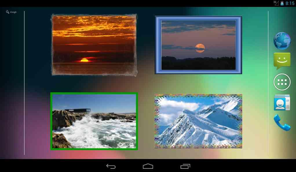 Photo Widget for Android Free- screenshot