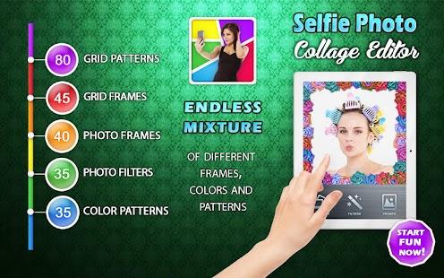 Selfie - 圖片 拼貼 照片 編輯