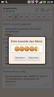Screenshot of Mensa Hamburg