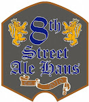 Logo of 8th Street Strawberry Saison