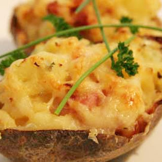 Four Cheese Two time Baked Potato.