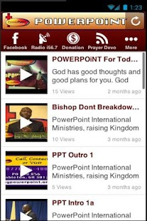 POWERPOiNT International - screenshot thumbnail