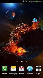 Deep Space 3D Pro lwp Screenshot 1