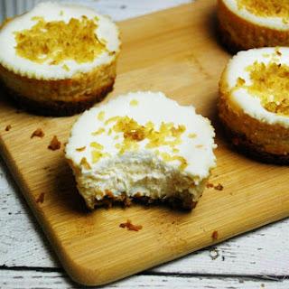 Apple Cider Mini Cheesecakes