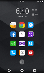 Flow Orange Theme for CM11 - screenshot thumbnail