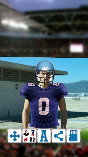 American Football Booth