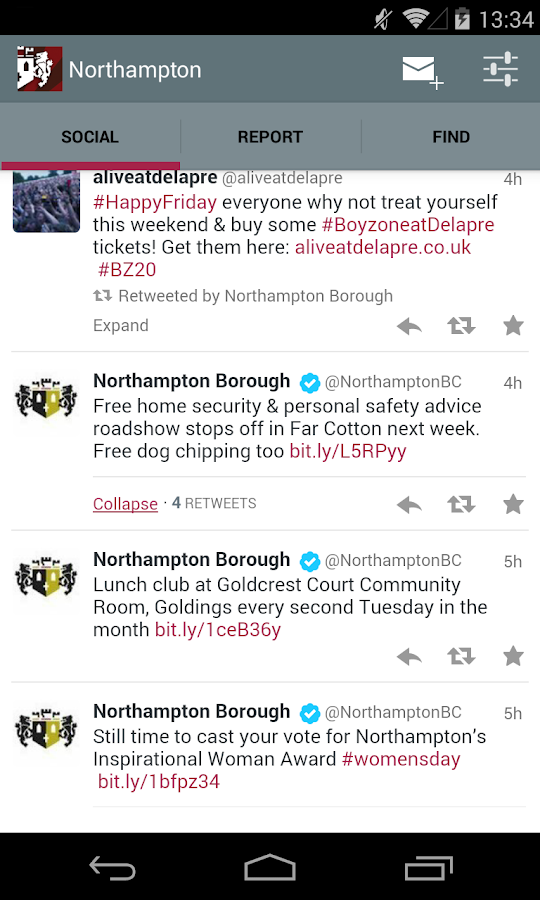 Northampton- screenshot