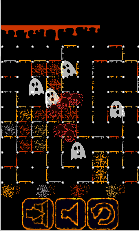 Dots And Boxes Halloween - screenshot