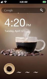 Coffee Lock Screen