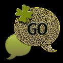 GO SMS THEME/ShamrockCheetah1 icon