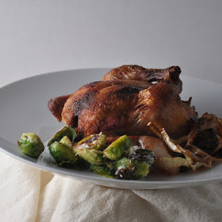 Roasted Cornish Hens with Sumac-Ginger Butter