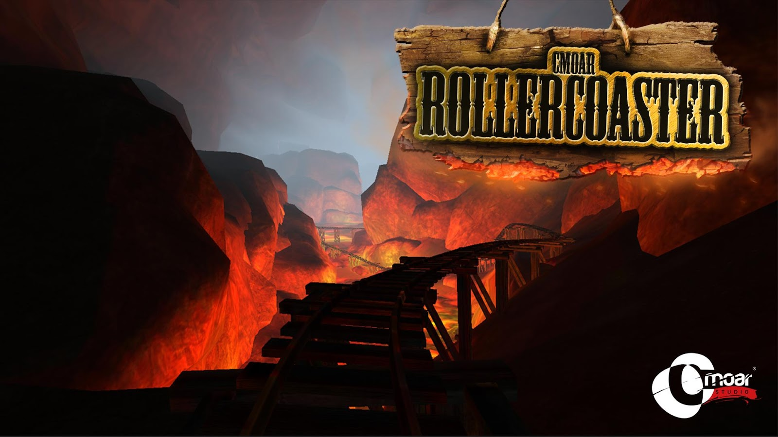 Cmoar Roller Coaster VR- screenshot