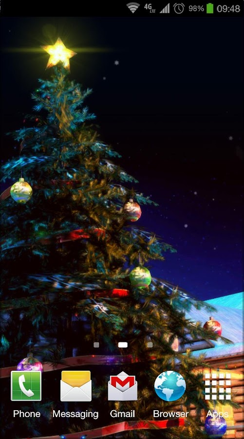Google Calendar Live Wallpaper : Christmas d live wallpaper android apps on google play