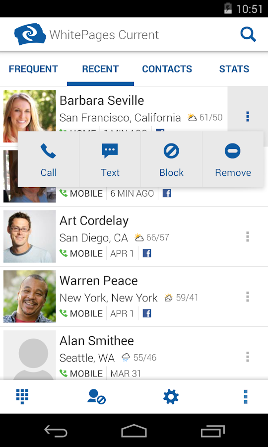 Whitepages Caller Id Amp Block Android Apps On Google Play