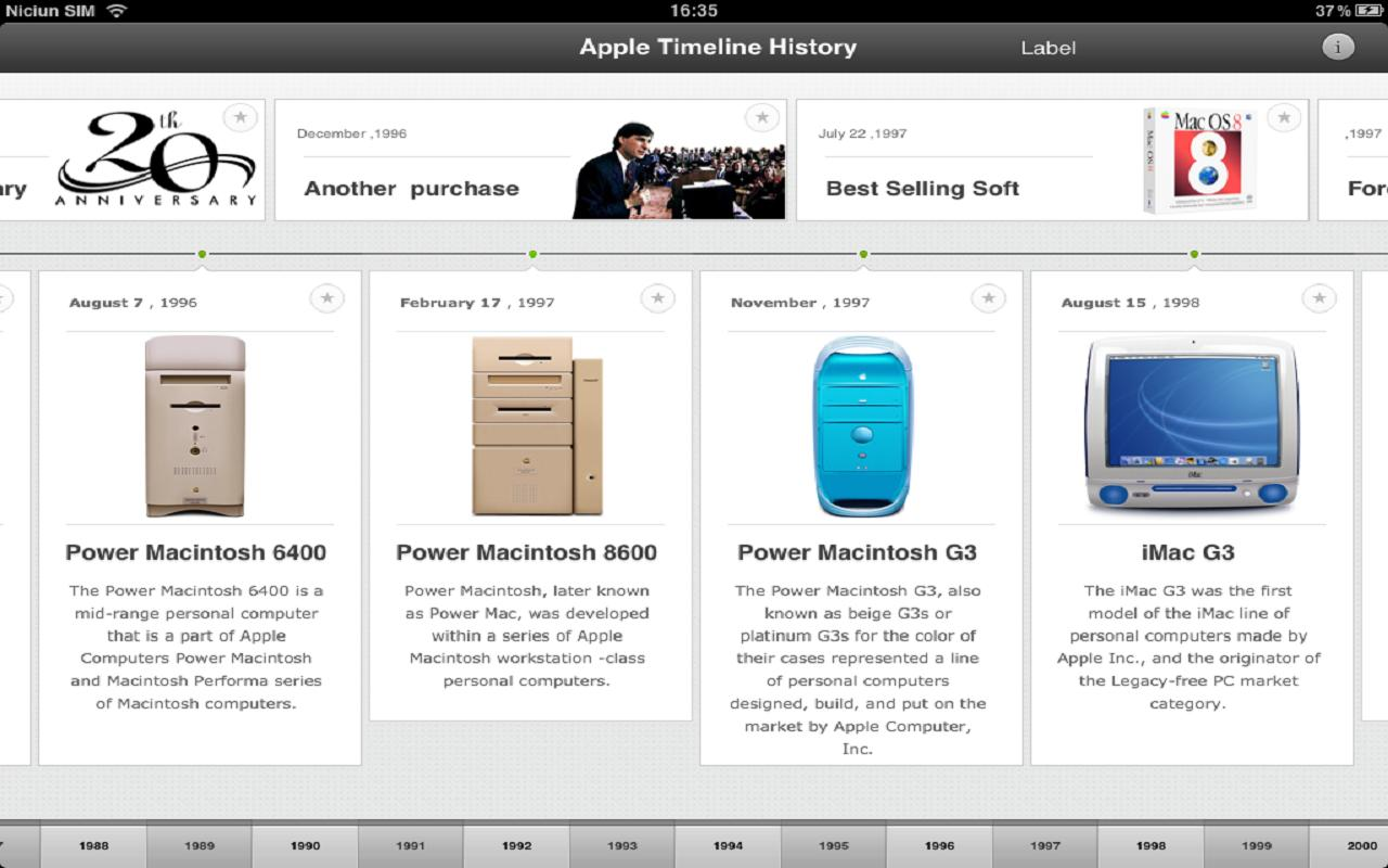 summary and history of apple Apple inc: apple inc, american manufacturer of personal computers, computer peripherals, and computer software it was the first successful personal computer.