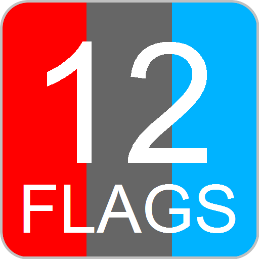 12 Flags LOGO-APP點子